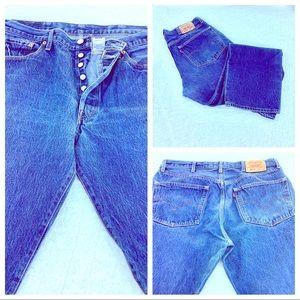 Vintage 80s Levi's Jeans 501 XX Levi Strauss & Co